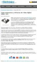 Macroservice en Mundo Electrónico marzo 2014